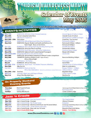 Tourism Awareness Month 2015 (Click to enlarge)