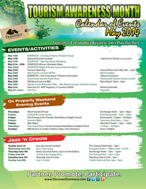 2014 Tourism Awareness Month Activities Page 2 (Click to enlarge)