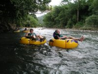 River Tubing on the Layou River
