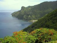 View from Soufriere from Galleon